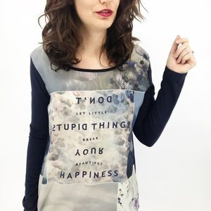 Esprit : Don't Let Stupid Things... Long-sleeve M